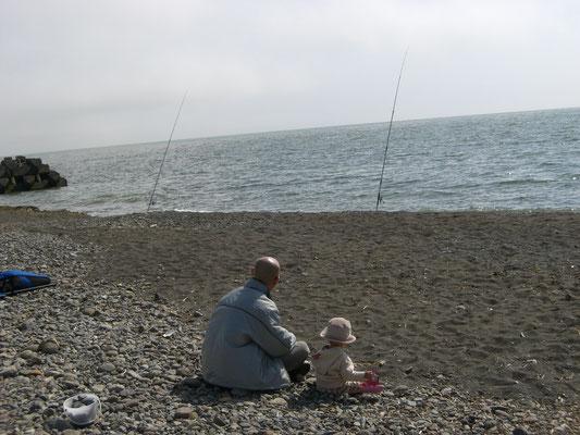 石狩市厚田区。釣れない釣り