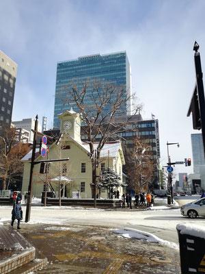 札幌市。時計台