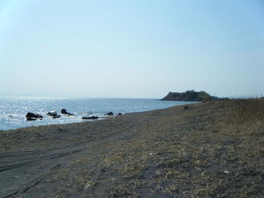伊達市。海岸 北の湘南と呼ばれています
