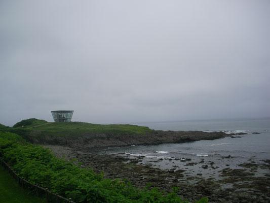 雄武町。日の出岬