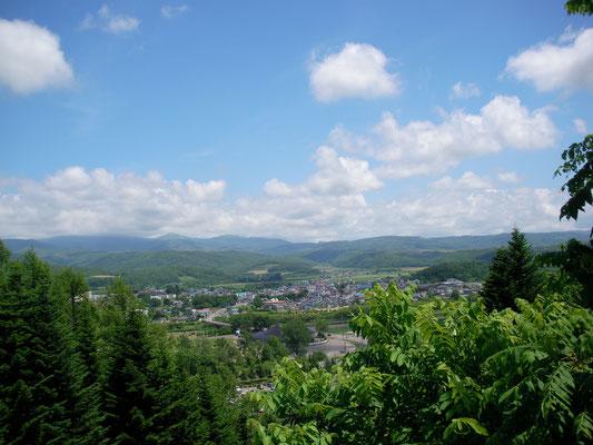 京極町。ふきだし公園展望台