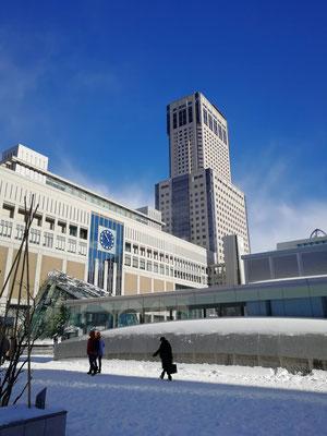 札幌市。札幌駅