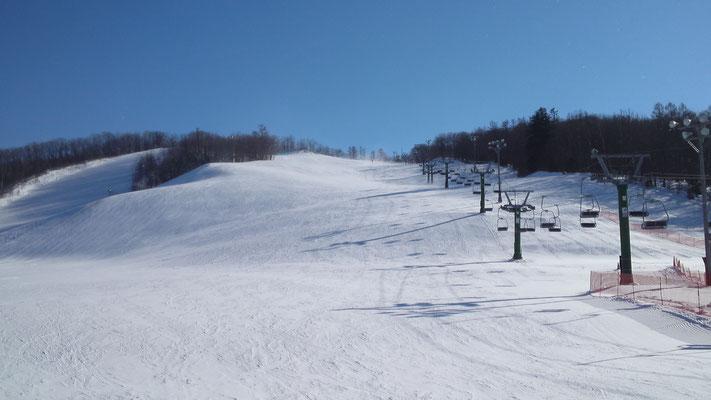 幕別町。白銀台スキー場