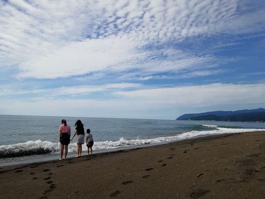 石狩市浜益区。海岸