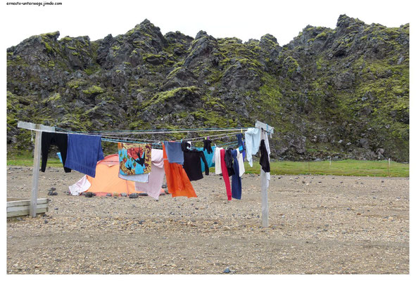 """Basiscamp"", Landmannalaugar"