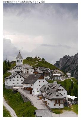 Auf dem Monte Lussari/ Lusare