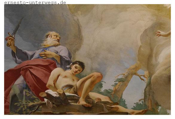 Wandfresko von Giovanni Battista Tiepolo im Diözesanmuseum