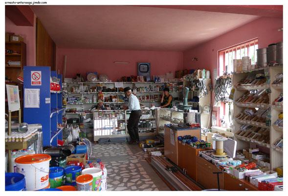 Ein Tante-Emma-Baumarkt im Dorf