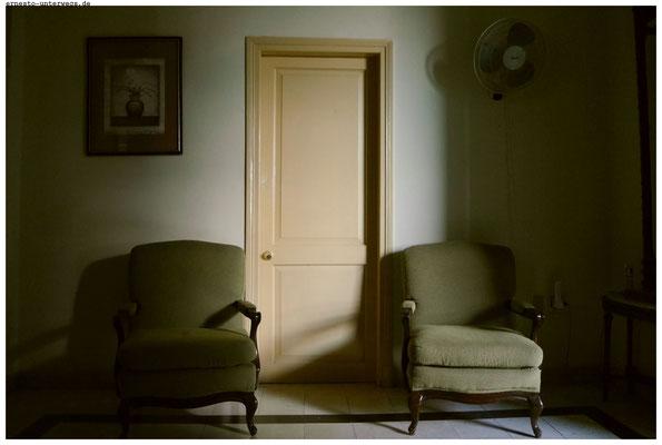 So kann es in einer Casa particulares aussehen.