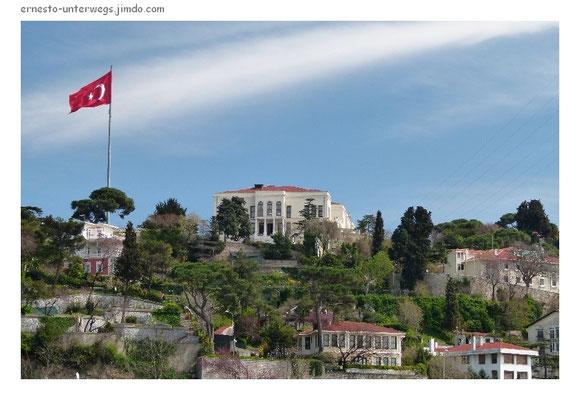 Auf der Bosporus-Fahrt