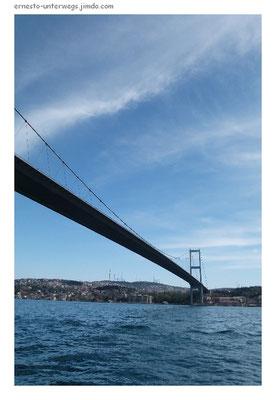 Die alte Bosporusbrücke