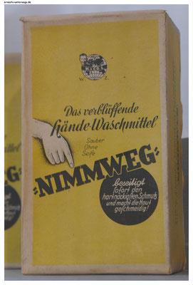 Werbung im Kaufmannsmuseum