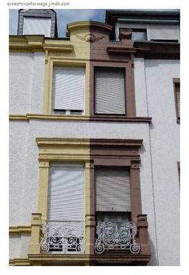 Zwei - Farben - Haus im Maximin - Viertel