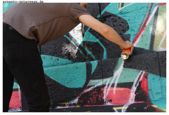 Wie wäre es mit einem Sprayerkurs in der Bildungskarenz?