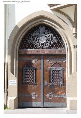 Tür im Balduinsviertel...
