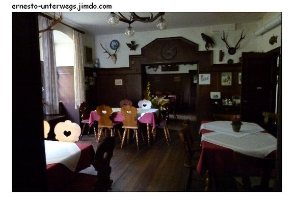 Die gute alte Gaststube