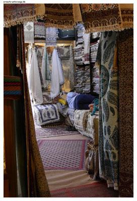 Teppichladen und Schlafstube