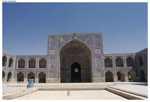 Hof der Imam-Moschee Isfahan