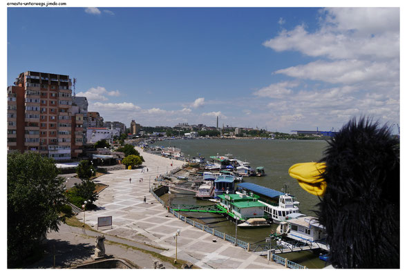 Die Promenade von Tulcea