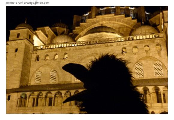 Nachts an der Süleymanye-Moschee