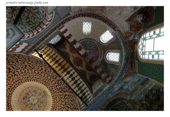 In einem Baptisterium der Aya Sofya