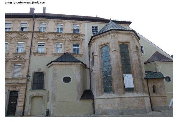 Eine Kirche wurde zum Wohnhaus umfunktioniert.