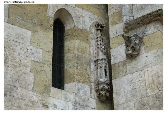 Chorfassade am Regensburger Dom