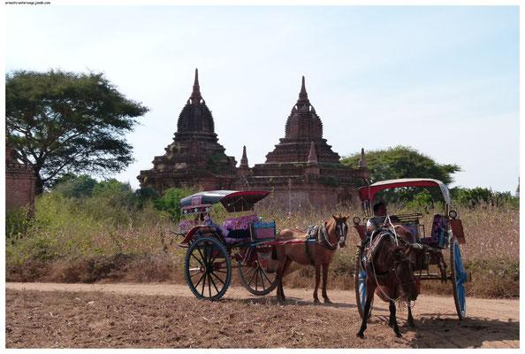 Eine Kutschfahrt durch Bagan ist absolut empfehlenswert!