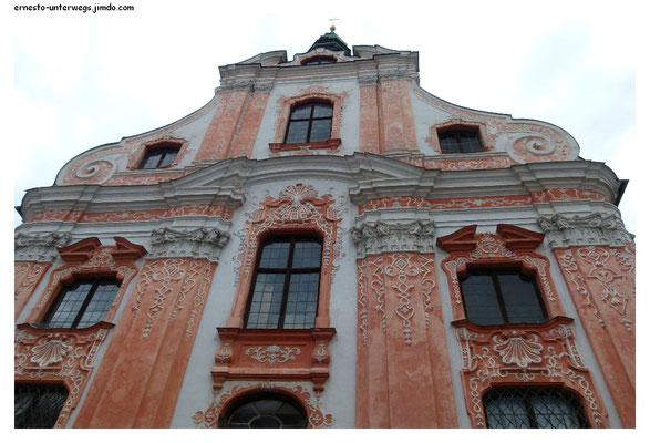Westportal der Asamkirche in Ingolstadt