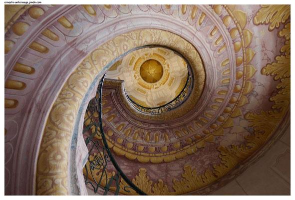 Treppenhaus im Stift Melk