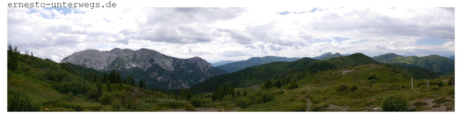 Blick auf den Monte Zermula
