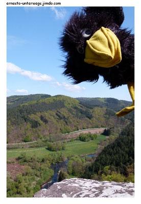 Aussichtspunkt Geyersley über dem Kylltal