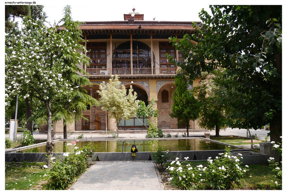 Chehel Sotun-Palalst in Qazvin