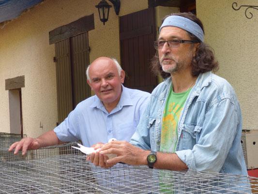 Alain Rey et Alain Debord