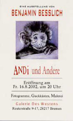 16.08. - 13.09.2002 Benjamin Besslich Fotogramme, Guck-Kästen, Malerei