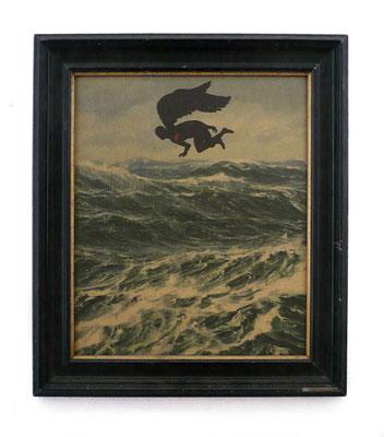 """""""Engel"""",2007, 44x38cm"""