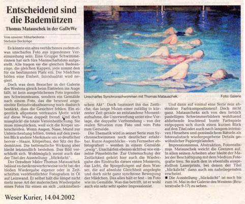 14.04.2002, Weser-Kurier