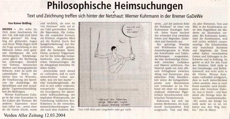 12.03.2004, Verden Aller Zeitung