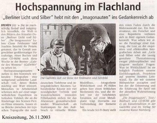 26.11.2003, Kreiszeitung