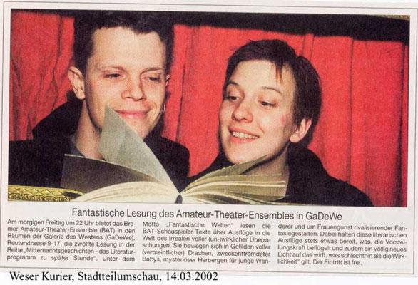 14.03.2002, Weser-Kurier