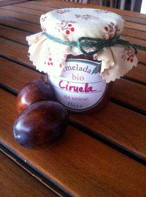 Mermelada bio de ciruela, sin azúcar