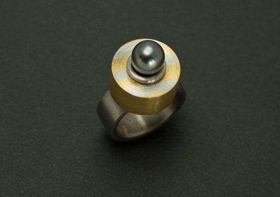 Ring, Platin, Gold