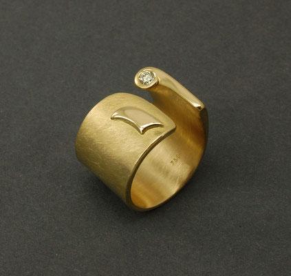 Ring, handgefertigt