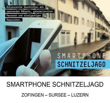 Kindergeburtstag Smartphone Schnitzeljagd