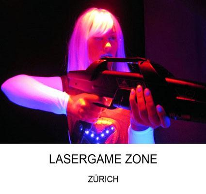 Geburtstagsfeier für Kinder Lasergame Zone Zürich