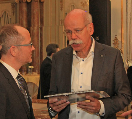 Dieter Zetsche and Carsten Karcher