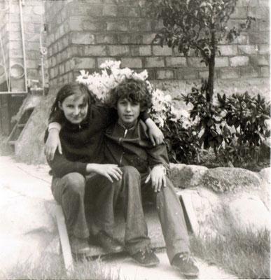 Der Autor mit Freundin