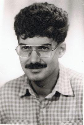Der Autor 1984. Damals EDV-Operator im Rechenzentrum des Instituts für Hochseefischerei Rostock