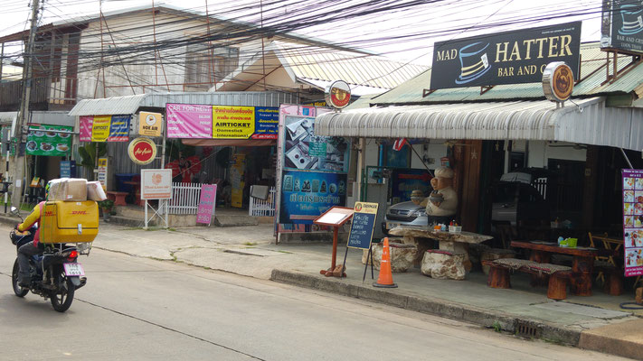 Die Straßen von Udon Thani