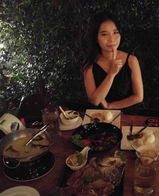 Restaurant De'Brick,eine thailändische Freundin